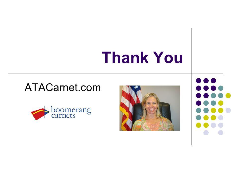 Thank You ATACarnet.com
