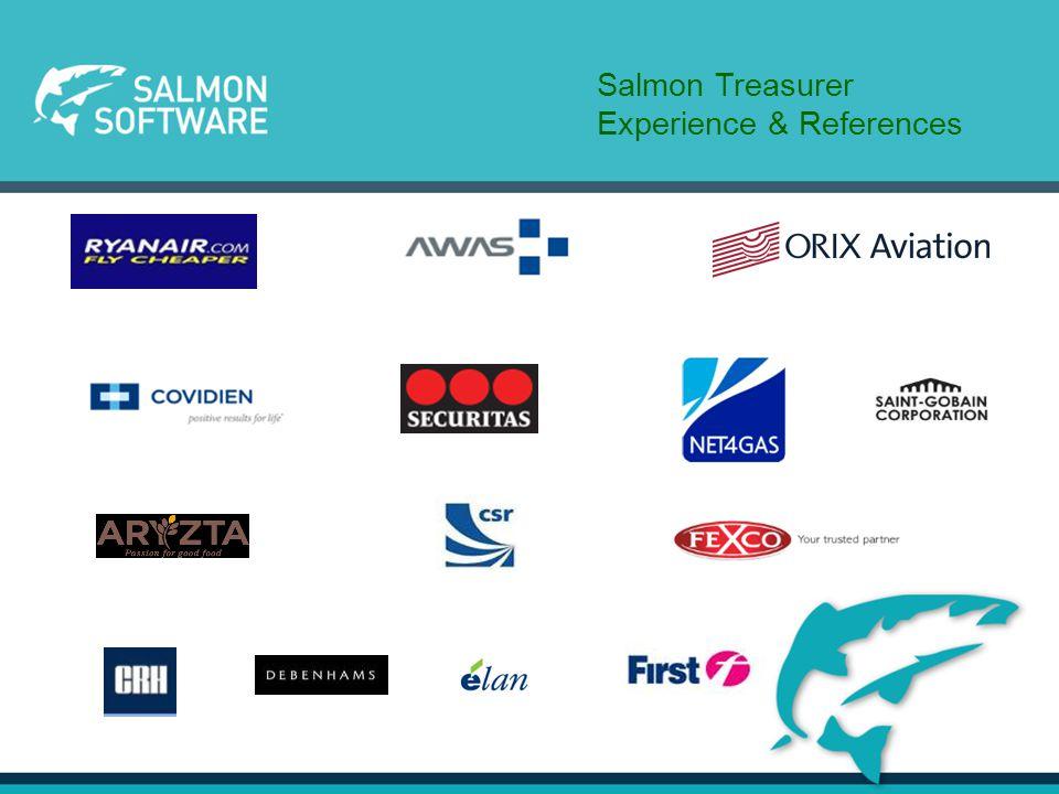 Salmon Treasurer Experience & References