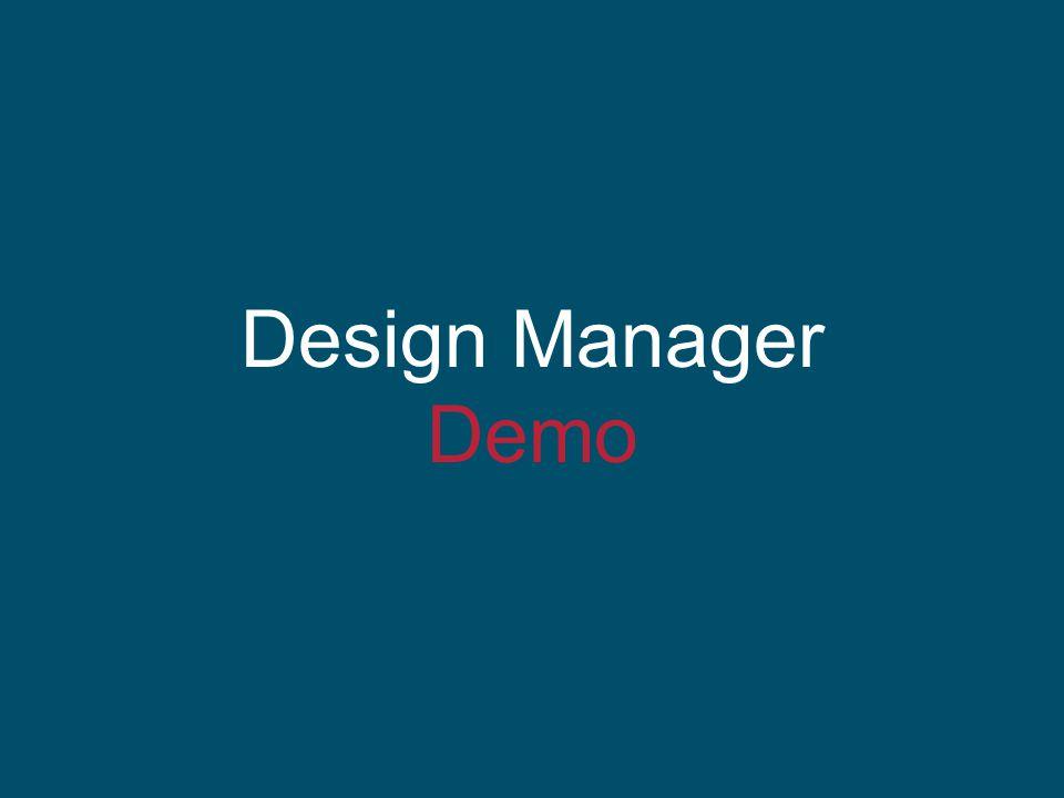 Design Manager Demo