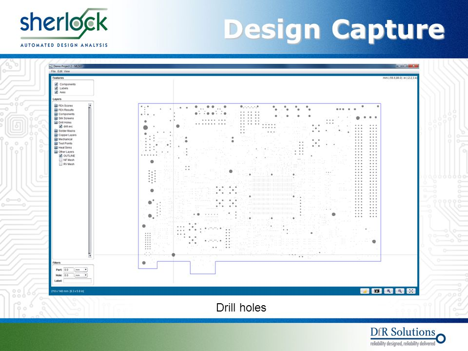Design Capture Drill holes