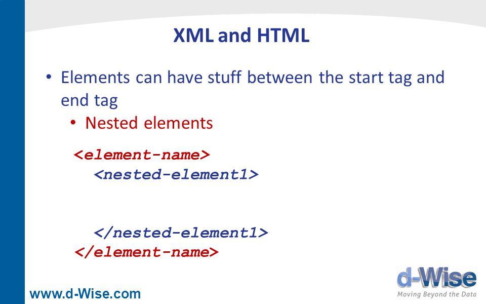 www.d-Wise.com XML Mapper