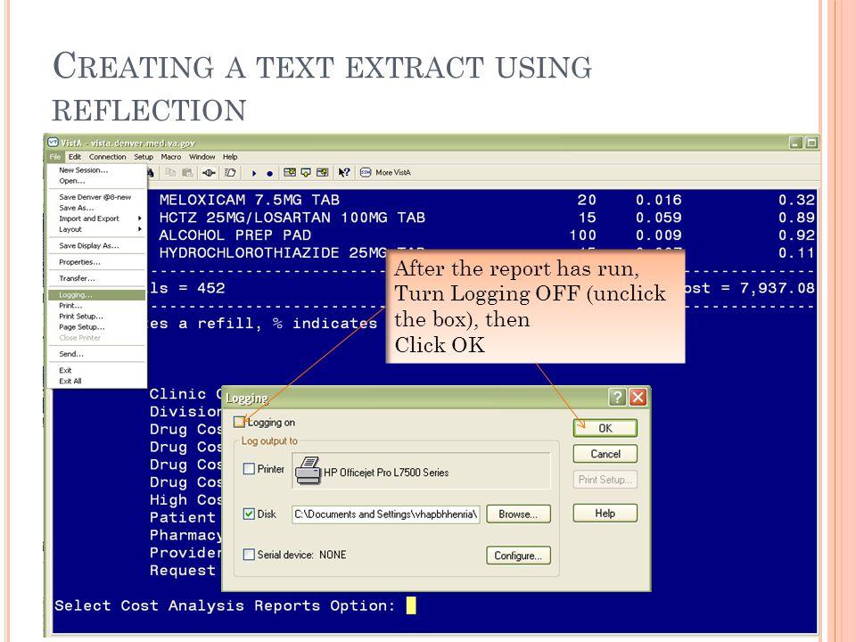 I MPORT D ATA Select a location and click OK