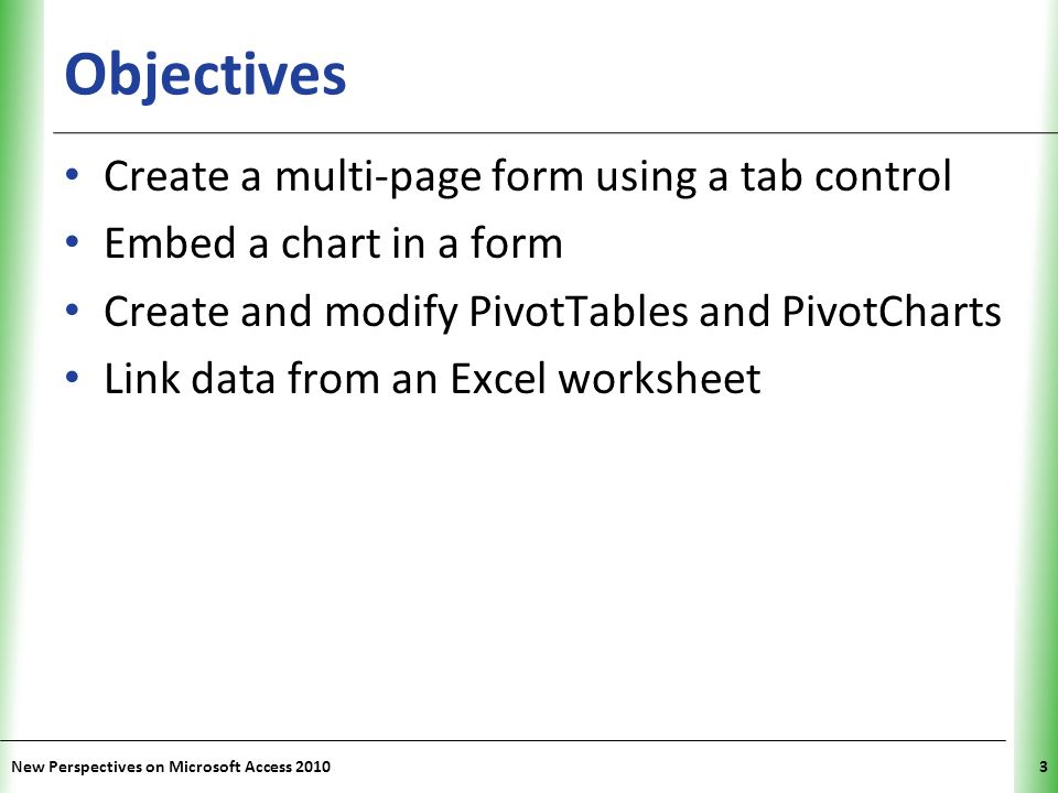 XP Importing an XML File as an Access Table New Perspectives on Microsoft Access 201014