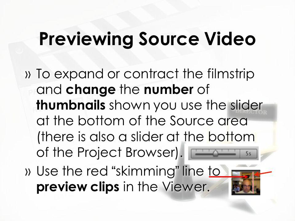 Special Effects »Allow you to make clip appear as if it were aged, black & white or sepia-toned, or with a vignette around it (these are just a few of the effects in iMovie).