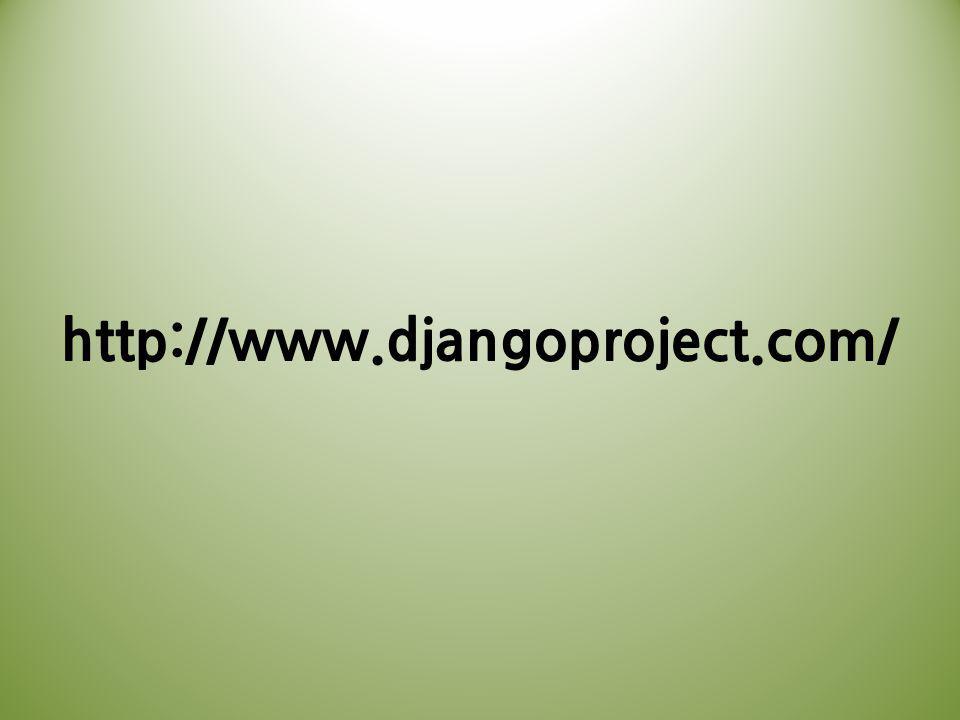 http://www.djangoproject.com/