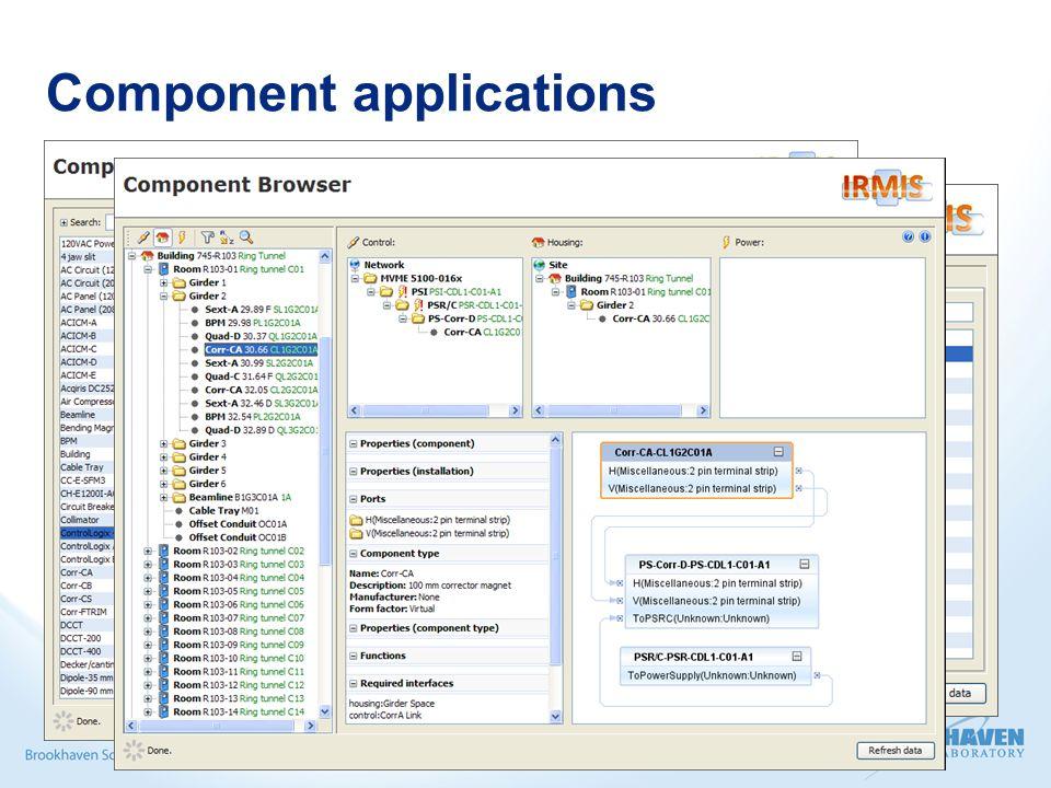 Component applications