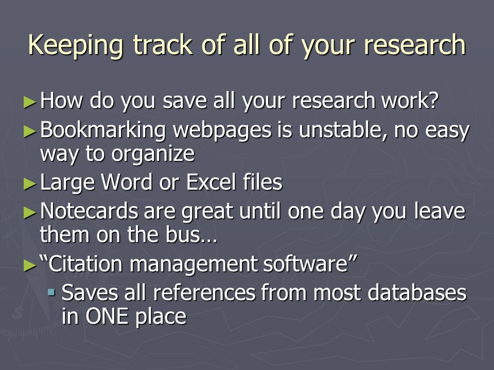 Saving a websiteSave several citations Save an individual citation Saving a book