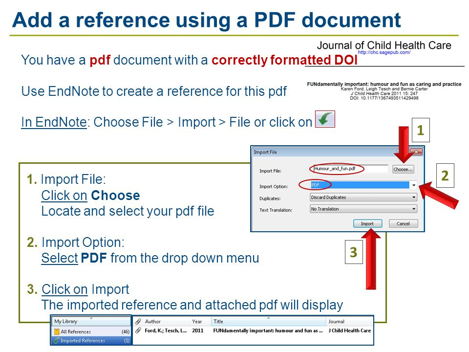 1. Import File: Click on Choose Locate and select your pdf file 2.