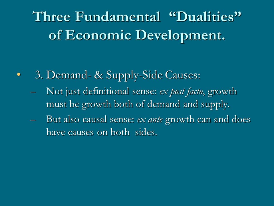 Long-Term Growth and Structural Change Growth in developing countries depends on 3 primary factors:Growth in developing countries depends on 3 primary factors: –Investment in physical and human capital –Imports of capital goods and modern intermediates: vehicles of higher-productivity technologies and technical knowledge; –Structural change involving shifts of both capital and labour from less productive to more productive sectors.