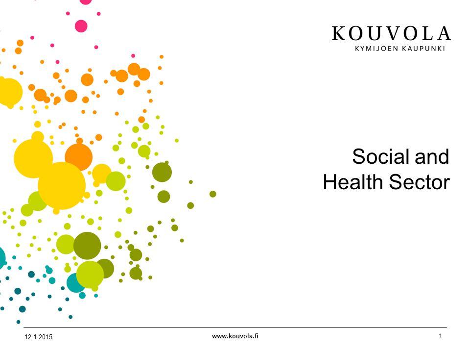 www.kouvola.fi1 12.1.2015 Social and Health Sector