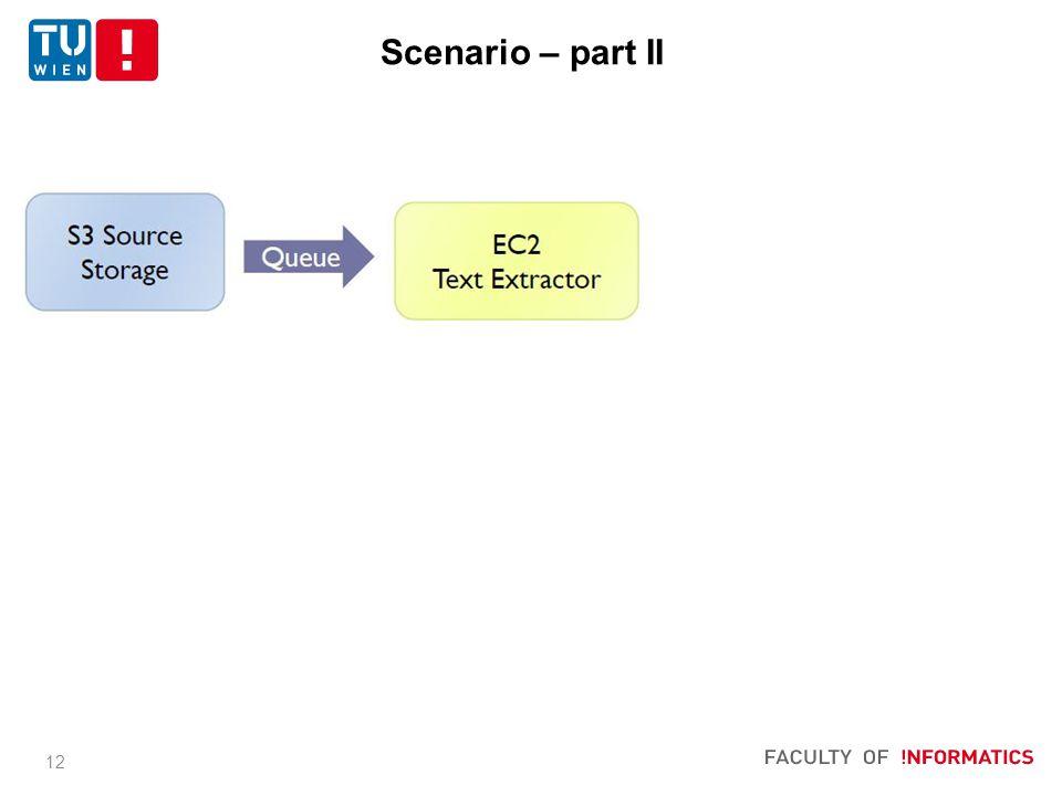 12 Scenario – part II
