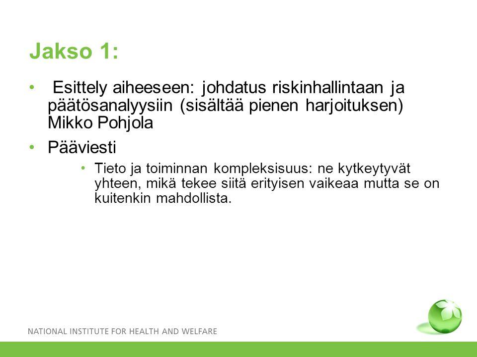 Jakso 2: Kuopion ilmastopoliittisen ohjelman (2009-2010) esittely (Erkki Pärjälä); huomioita ohjelman käytännön toteuttamisesta (Mikko Pohjola).