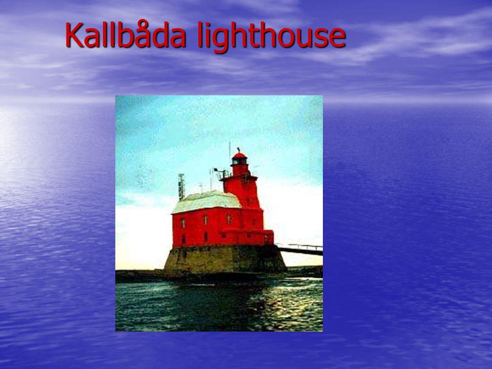 Kallbåda lighthouse Kallbåda lighthouse