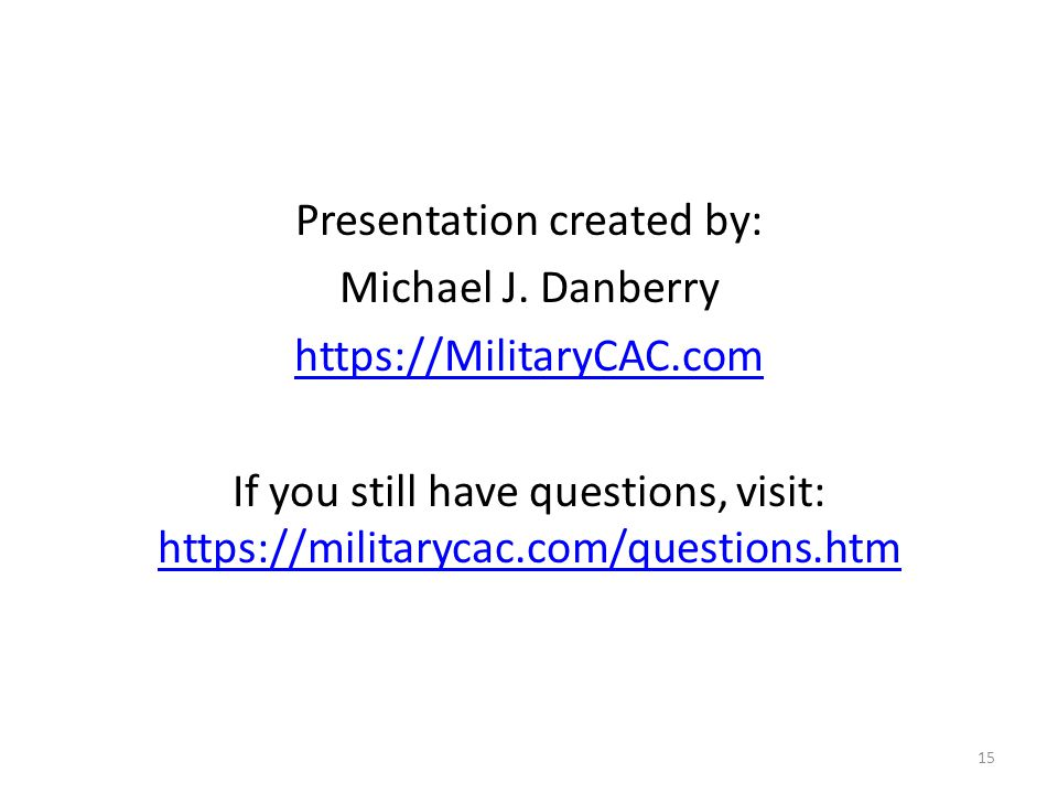 Presentation created by: Michael J.
