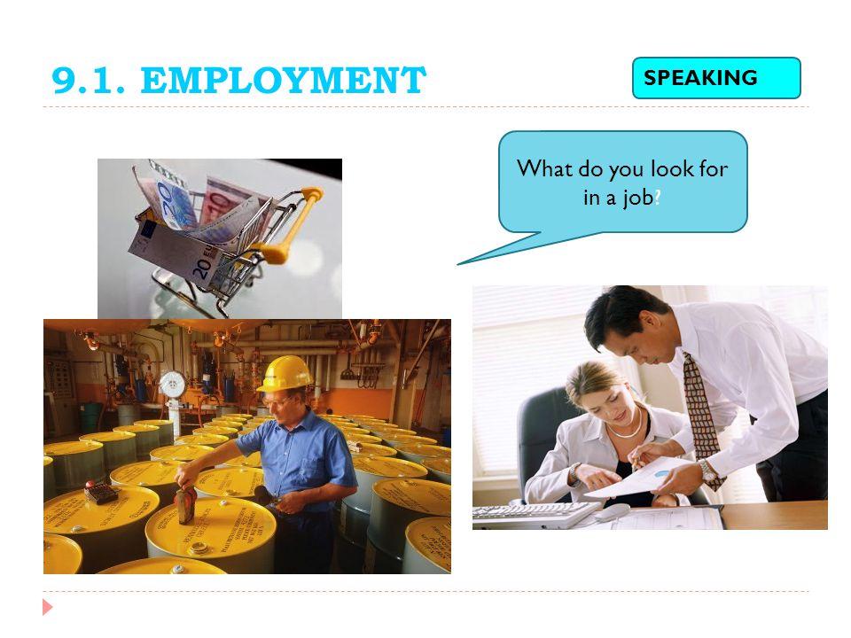 9.1.EMPLOYMENT Department (n.