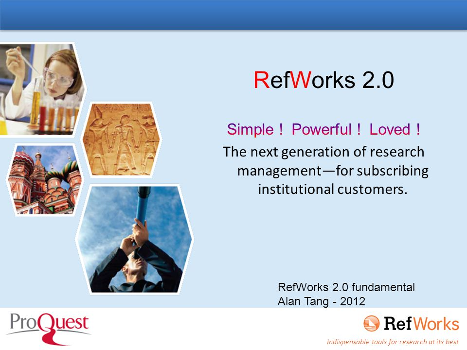Select Direct Export to Refworks Click to export