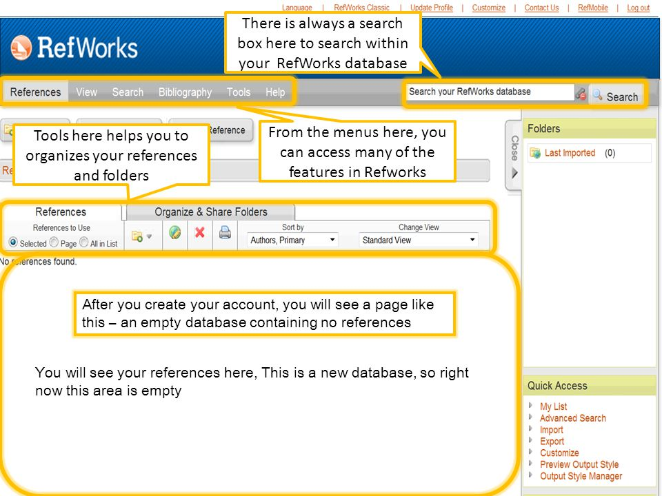 Insert/Edit Citations box You can also search using the search box, which will search every field….