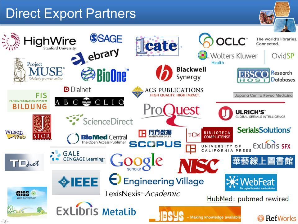 - 8 - Direct Export Partners