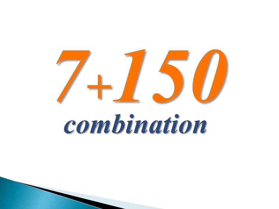 7 + 150 combination