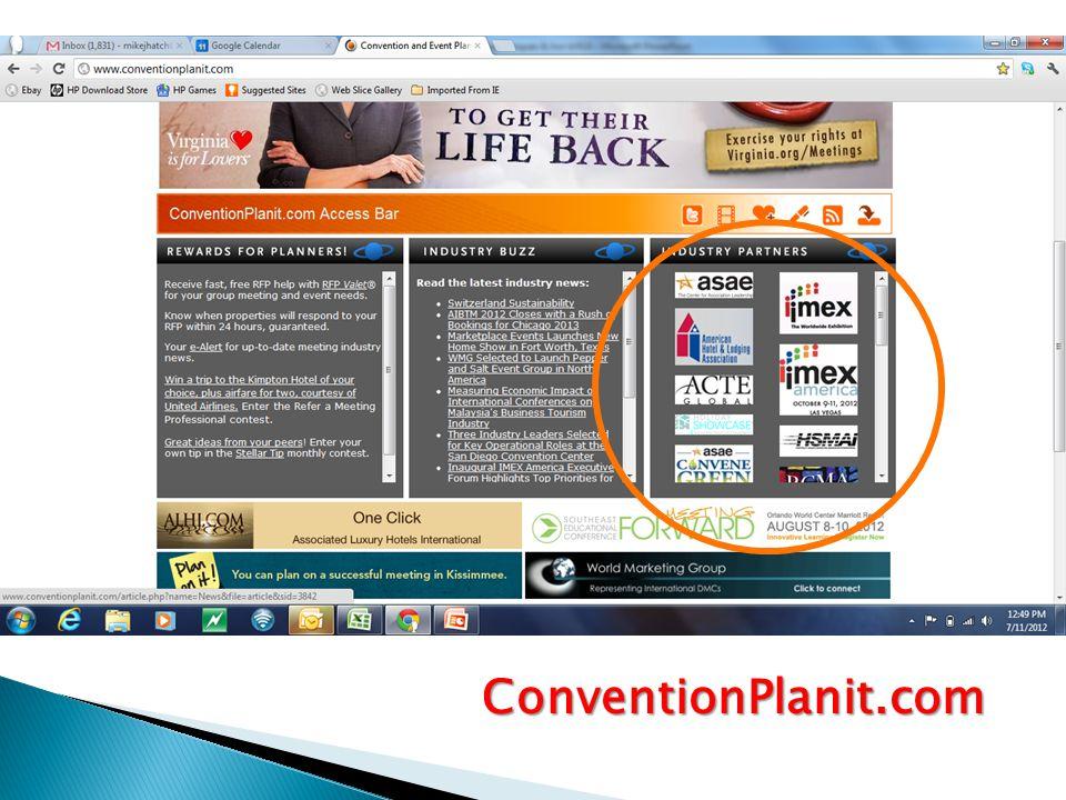 ConventionPlanit.com