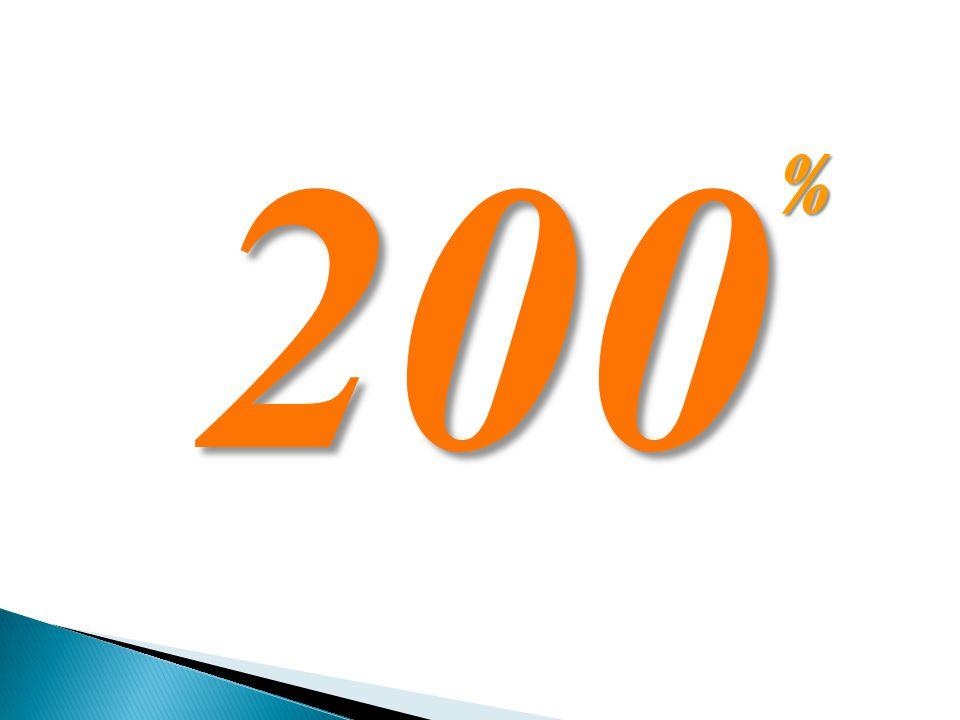 200 %