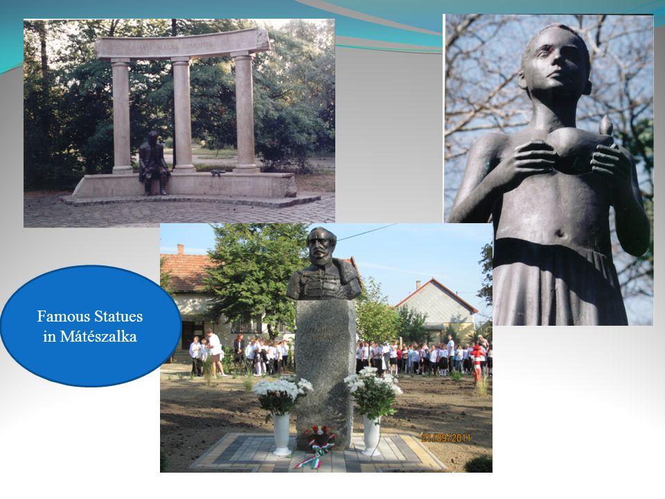 Famous Statues in Mátészalka