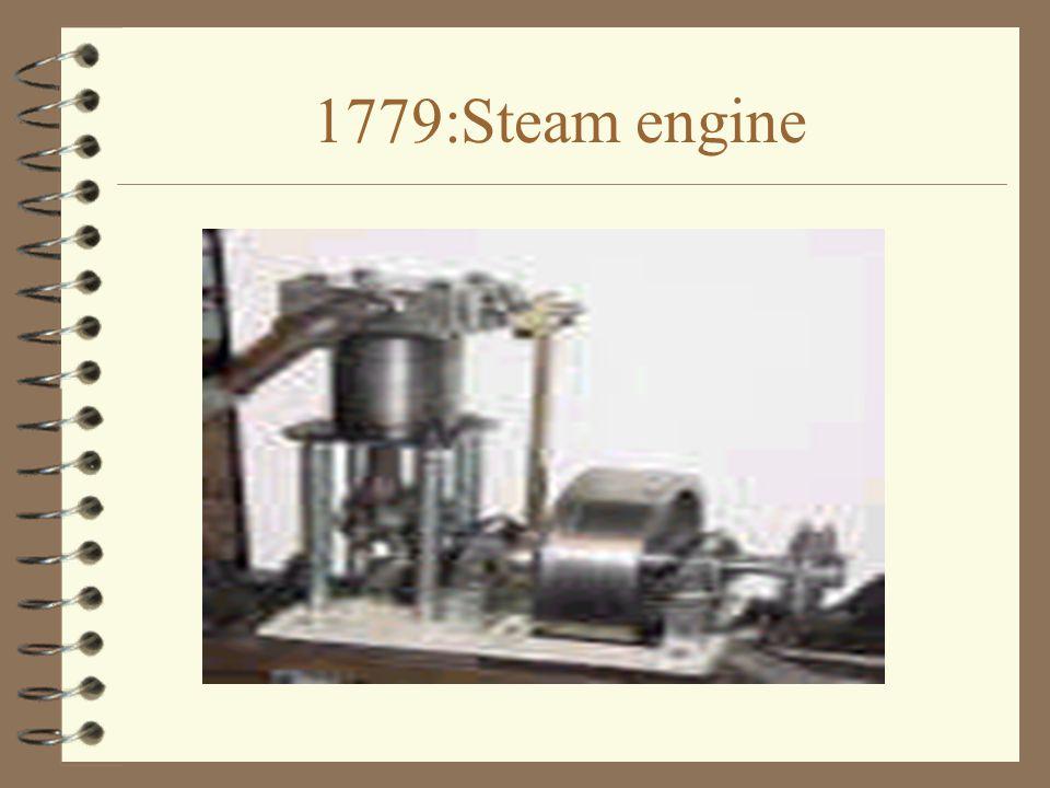1779:Steam engine