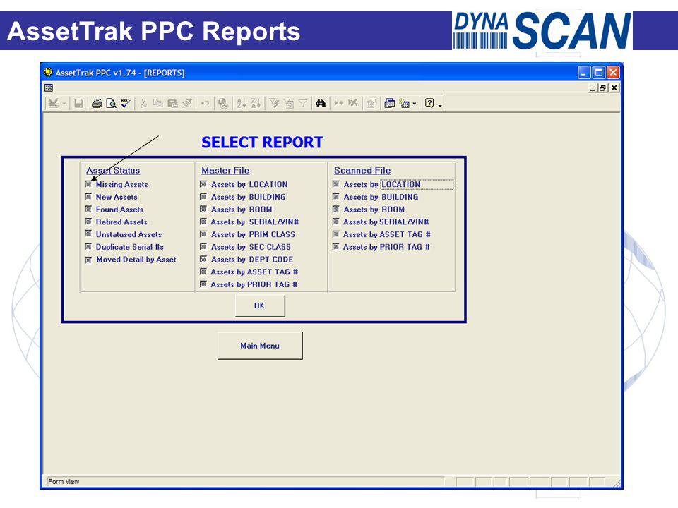AssetTrak PPC Reports