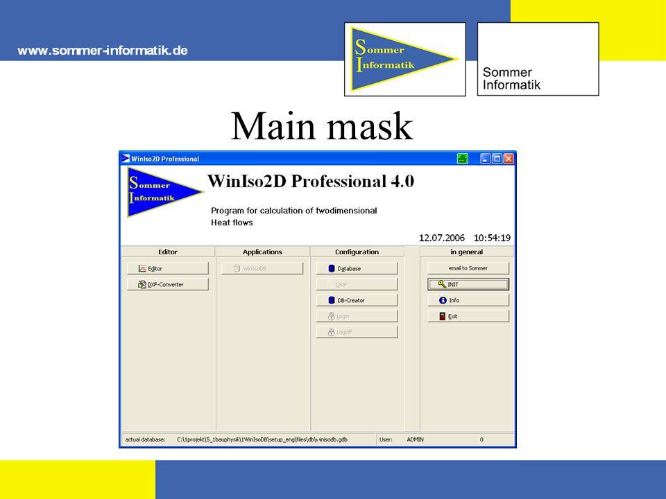 Main mask