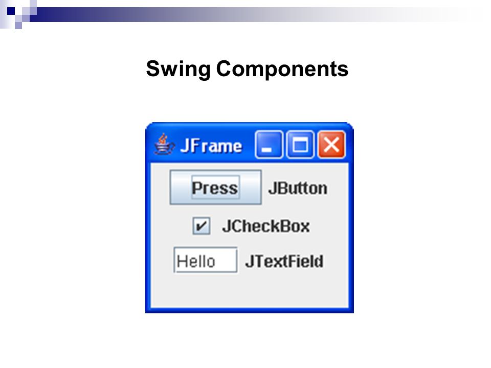 Swing Components