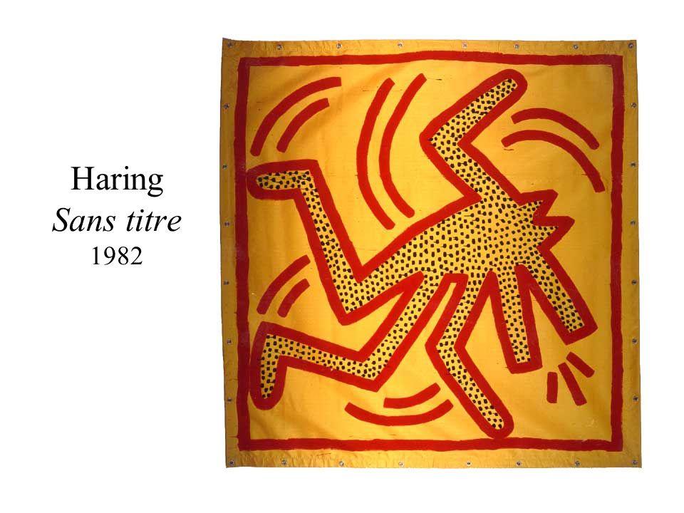 Haring Sans titre 1982