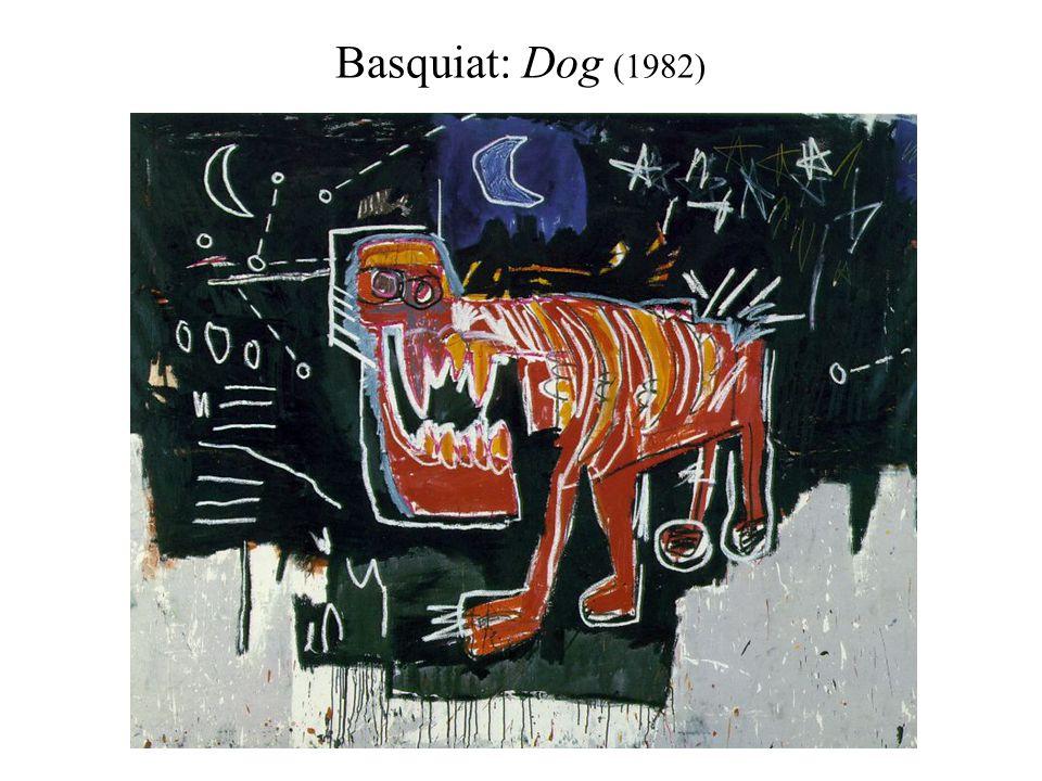 Basquiat: Dog (1982)