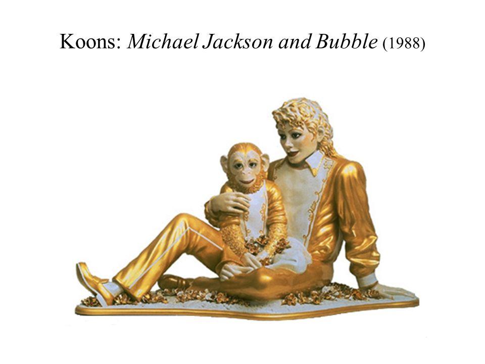 Koons: Michael Jackson and Bubble (1988)
