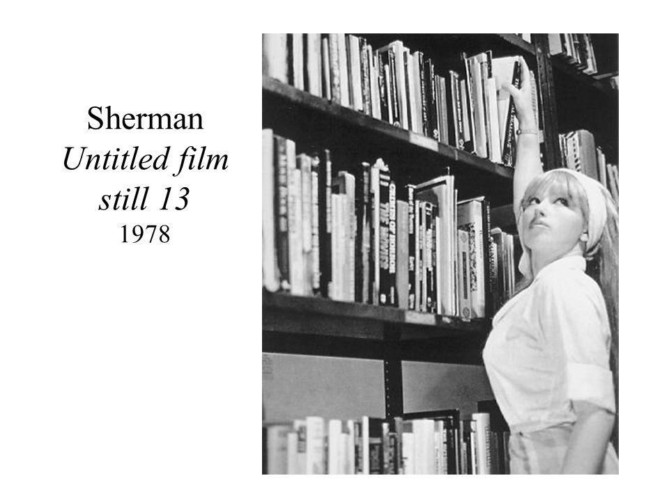 Sherman Untitled film still 13 1978