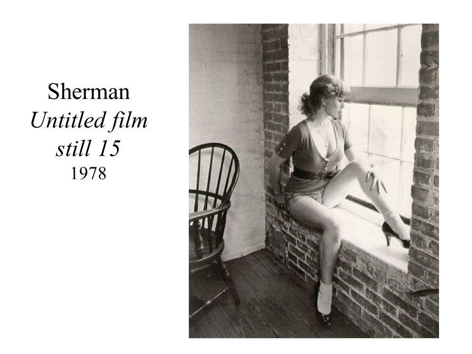 Sherman Untitled film still 15 1978