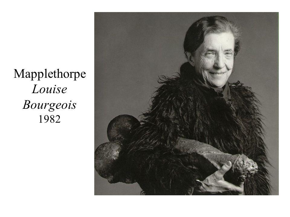 Mapplethorpe Louise Bourgeois 1982