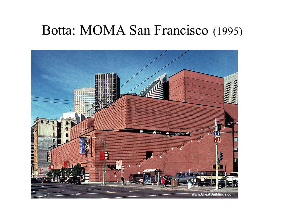 Botta: MOMA San Francisco (1995)