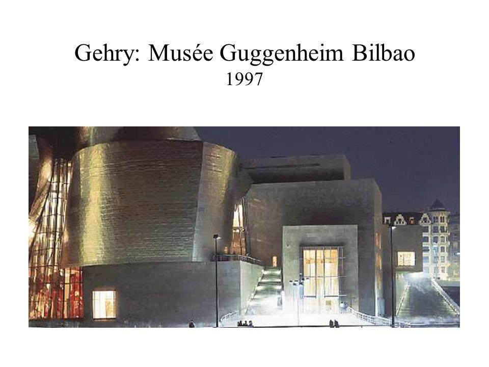 Gehry: Musée Guggenheim Bilbao 1997