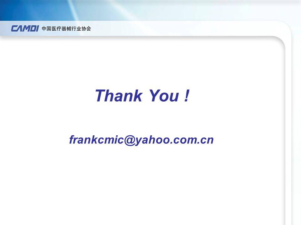 Thank You ! frankcmic@yahoo.com.cn