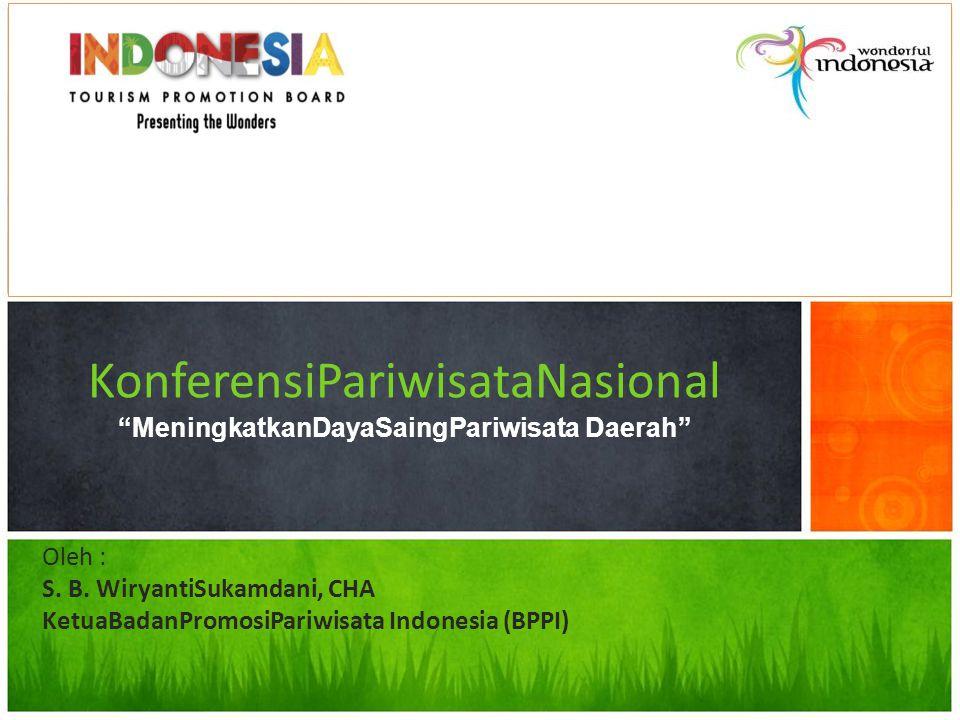 3 Key Initiatives / Programs 1.LOW SEASONS TOURISM 2.CREATIVE TOURISM 3.GREEN TOURISM 20112012201320142015 ORG INTROACTIVITIES 12 Indonesia Tourism Promotion Board (ITPB)