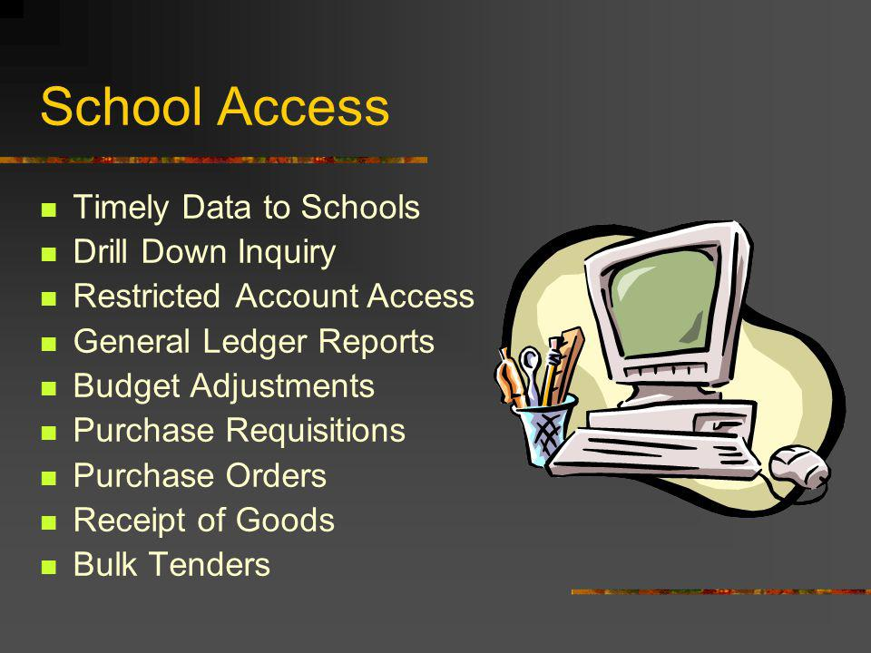Integrated Applications Office Access School Access