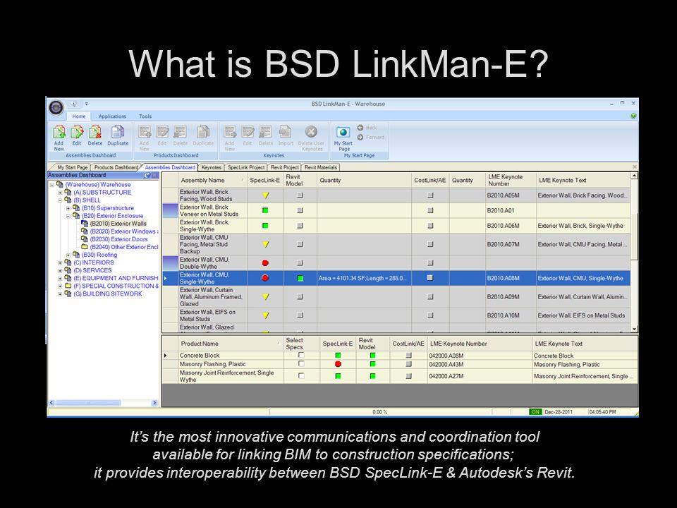 What is BSD LinkMan-E.