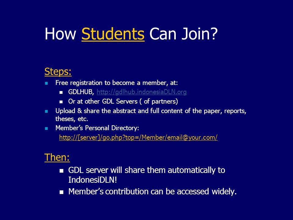 The GDL Headquarter: The GDL Headquarter: Link to partner's knowledgebase.