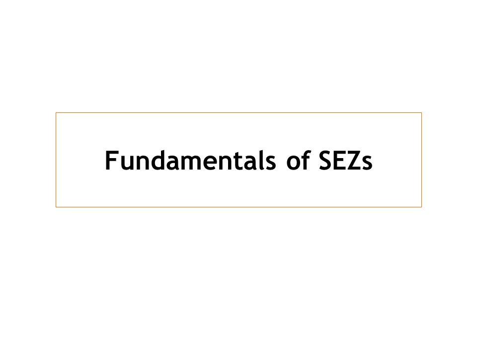 Fundamentals of SEZs