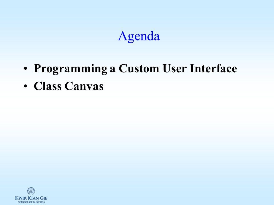 Web Teknologi 3 (MKB721C) Minggu 10 Page 1 MINGGU 10 Web Teknologi 3 (MKB721C) Pokok Bahasan: –Programming a Custom User Interface Tujuan Instruksional Khusus: –Siswa memahami bagaimana membuat dan mengembangkan Custom User Interface