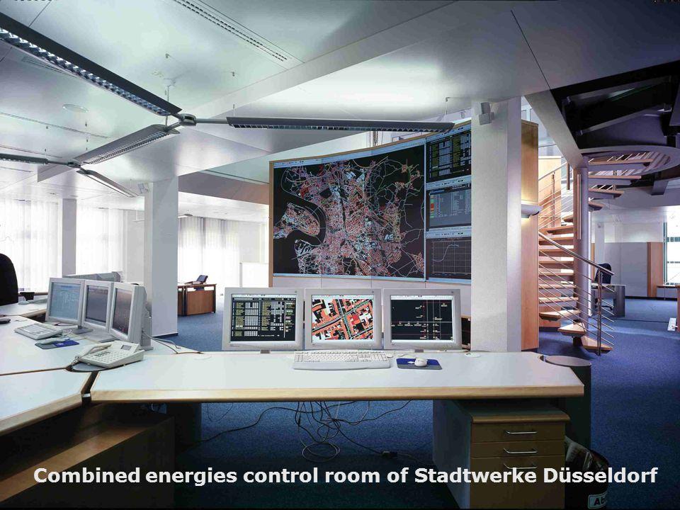 © PSI AG, Stadtwerke Düsseldorf GmbH 2008 SimoneCongress 2008, sheet 7 Combined energies control room of Stadtwerke Düsseldorf