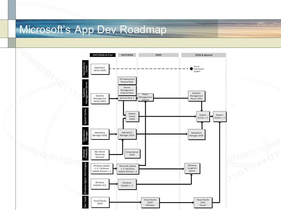 The.Net Cool-aid  Microsoft intends to do all their applications development and more under.NET.
