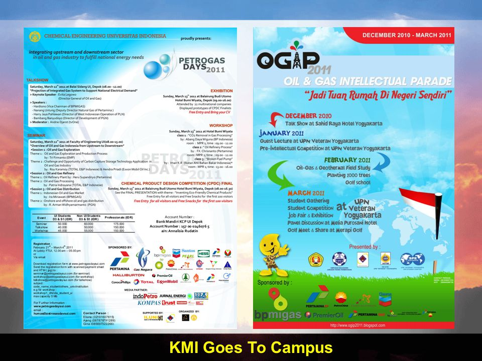 KMI Goes To Campus