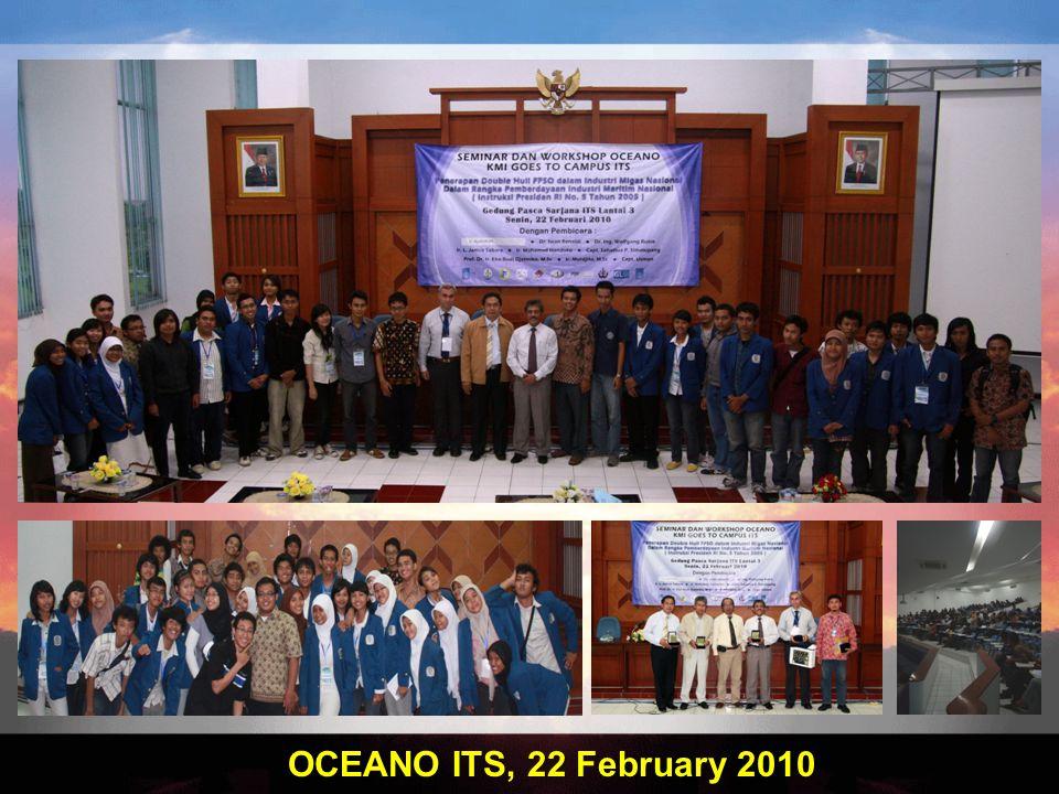 OCEANO ITS, 22 February 2010