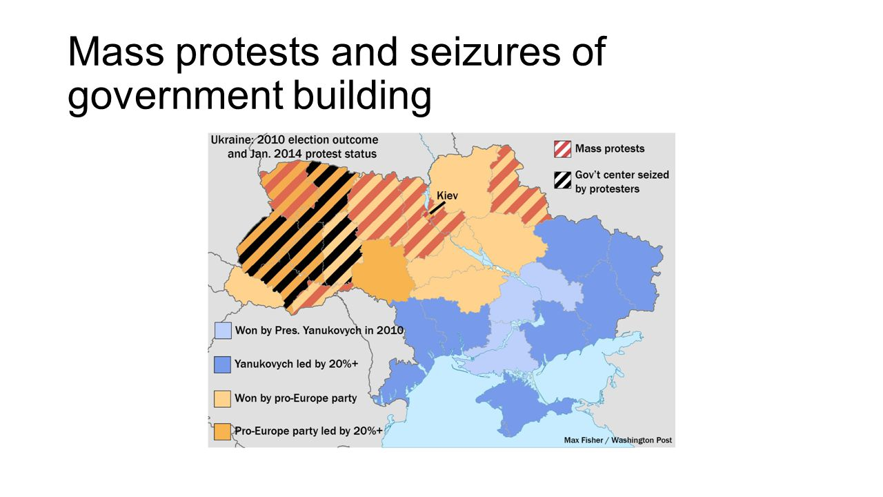 Mass protests and seizures of government building